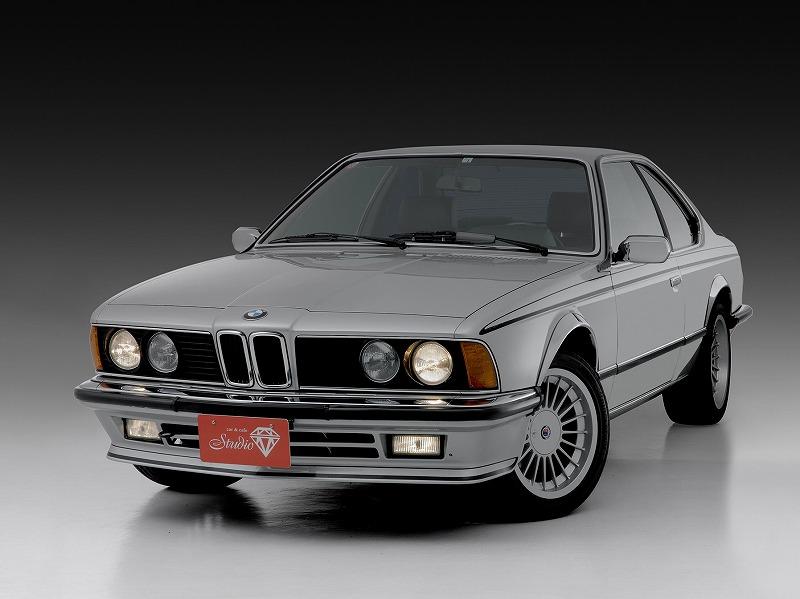 BMW635CSi E24 17インチアルピナAW 黒革シート シルキーシックス   フェラーリ・ポルシェ買取査定、輸入車限定の委託販売専門店   スタジオWM
