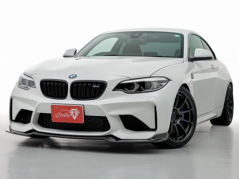 BMW M2 Mパフォーマンス RAYSボルクレーシング19インチAW REMUS4本マフラー